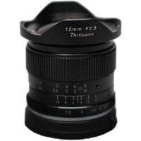 7Artisans 12mm f/2.8 Photoelectric Lens For Fujifilm X (Black) [A603B]