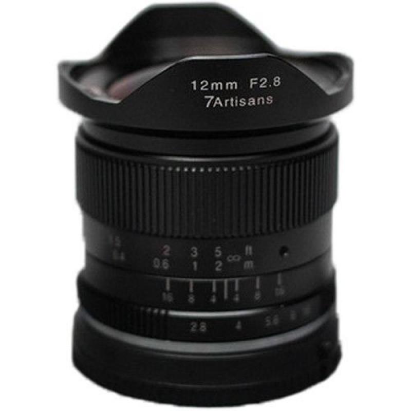 7Artisans 12mm f/2.8 Photoelectric Lens For Sony E (Black) [A601B]
