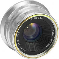 7Artisans 25mm f/1.8 Photoelectric Lens For Micro 4/3 - Silver [A104S]