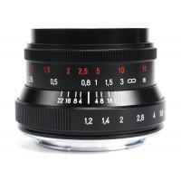 7Artisans 35mm f/1.2 II Photoelectric Lens For Fujifilm X (Black)