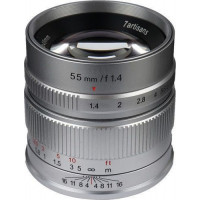 7Artisans 55mm f/1.4 Photoelectric Lens For Sony E (Silver) [A501S]