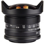 7Artisans 7.5mm f/2.8 Fisheye Photoelectric Lens For Fujifilm X [A303B]