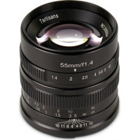 7Artisans 55mm f/1.4 Photoelectric Lens For Sony E (Black) [A501B]