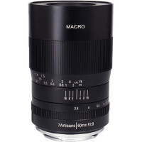 7Artisans 60mm f/2.8 Macro Lens For Sony E (Black) [A112-E]