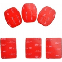 Accpro 6x 3M Sticker Adhesive Pad Set for GoPro [GP14]