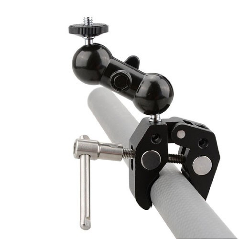 AccPro Dual Ball Heads Magic Arm [ST-24]