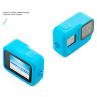 Accpro Silicone Sleeve Case for GoPro Hero 8 Blue [GP803b]