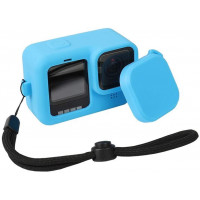 Accpro Silicone Sleeve Case for GoPro Hero 9 Blue [GP901B]