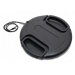Accpro καπάκι φακού 62mm black