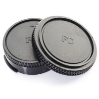 Accpro σετ καπάκια πίσω φακού και σώματος για Canon FD