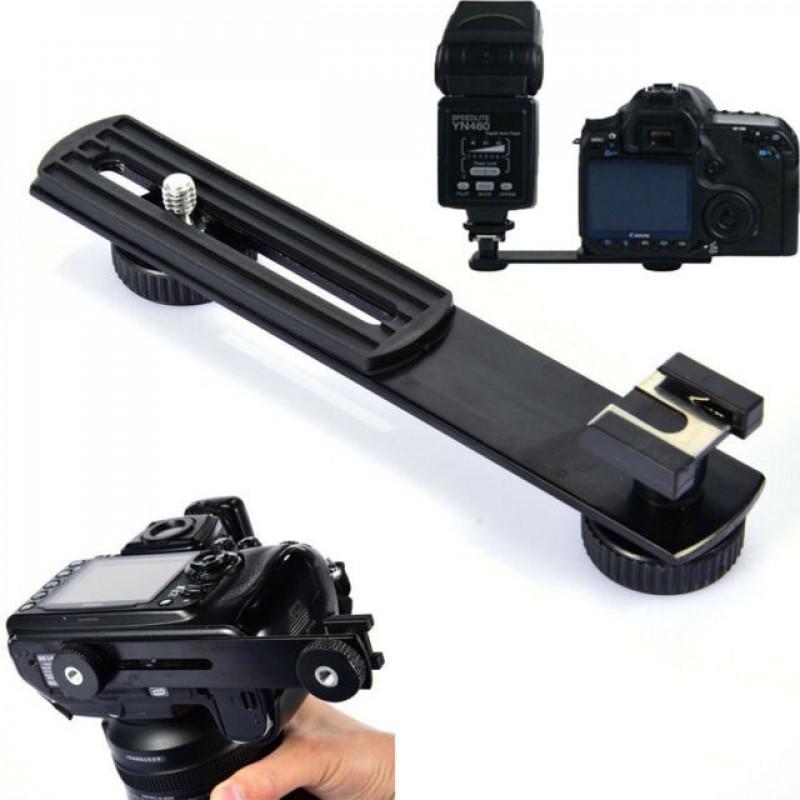 AccPro Camera Bracket Holder with Hotshoe Mount [LS-15]