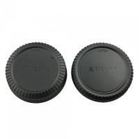Accpro σετ καπάκια πίσω φακού και σώματος για Fujifilm X mount