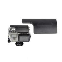Accpro CNC Aluminum back door clip lock buckle for GoPro Hero 3+/4 - Black [GP220]