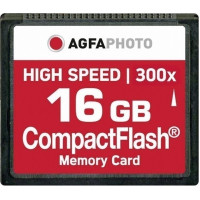 AgfaPhoto CompactFlash Memory Card 16GB CF  300x [10434]