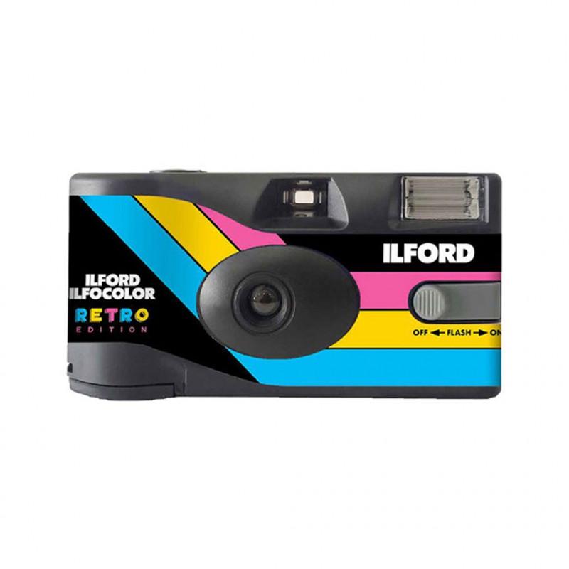 ILFORD ILFOCOLOR Rapid Retro Μηχανή μίας χρήσεως με Flash [27 Photos]