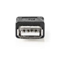 NEDIS CCGP60900BK Αντάπτορας (μούφα) USB 2.0 θηλ. - USB 2.0 θηλ.