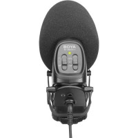 Boya On-Camera Supercardioid Shotgun Microphone BY-BM3031