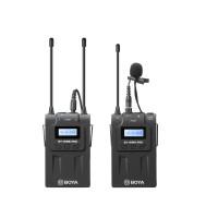 BOYA BY-WM8 PRO-K1 Ασύρματο σύστημα μικροφώνου UHF με ένα δέκτη και ένα πομπό
