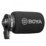 BOYA BY-A7H Plug-in Condenser Μικρόφωνο για Smartphones