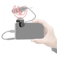 Boya BY-C12 Βάση στήριξης Μικροφώνου σε Smartphone / Tablet