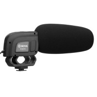 Boya On-Camera Condenser Shotgun Microphone BY-M17R
