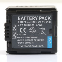 2-Power VBI9702A Replacement battery for Panasonic VW-VBG130