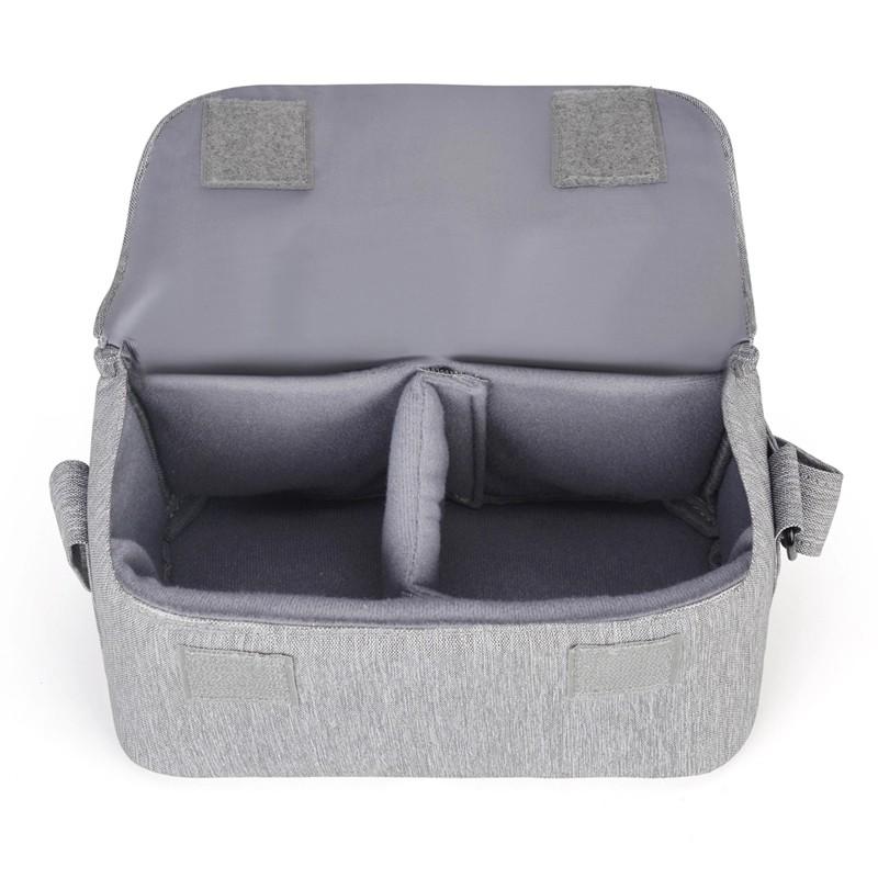 Caden D16 Τσάντα Ώμου για Dslr / Mirrorless - Grey