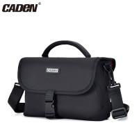 Caden D12 Τσάντα Ώμου - Black