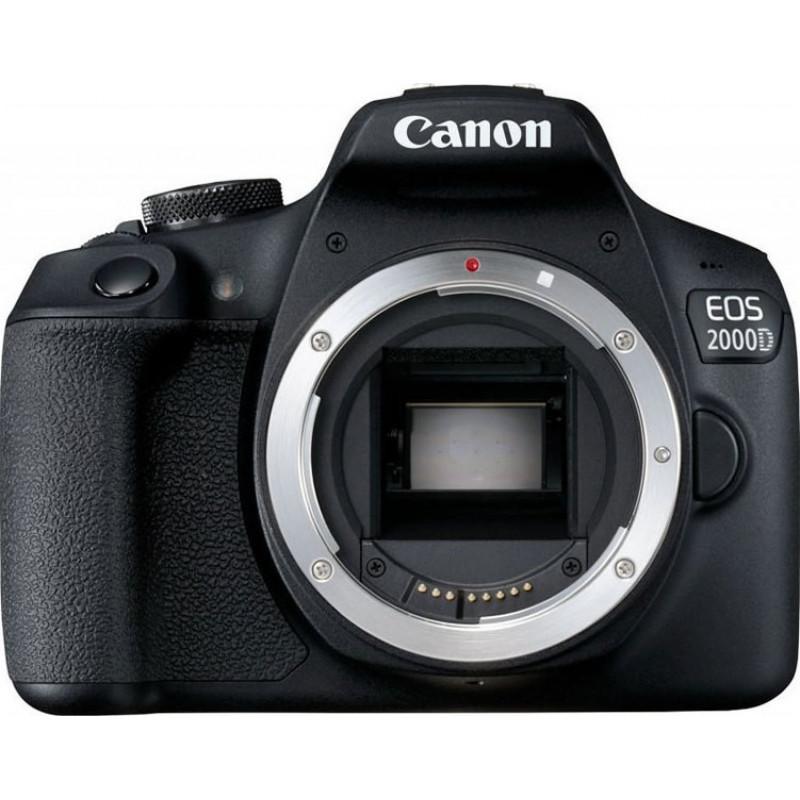 Canon EOS 2000D kit 18-55mm IS II - Black