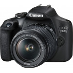 Canon EOS 2000D kit 18-55mm IS II - Black + Κάρτα SD 16gb  (Cashback -30€)