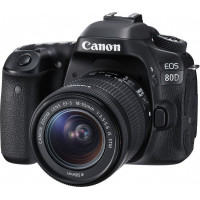 Canon EOS 80D Kit & EF-S 18-55mm f/3.5-5.6 IS STM (Cashback για Φοιτητές  -100€ )