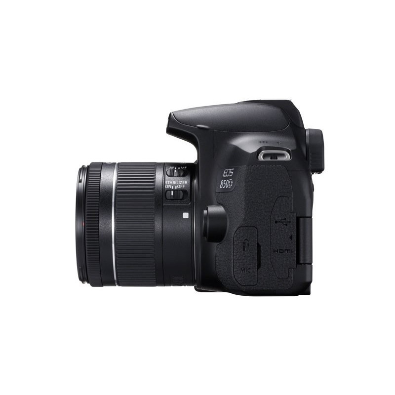 Canon EOS 850D Kit & EF-S 18-55mm f/4-5.6 IS STM + Δώρο φακός 50mm f/1.8 STM [3925C016AA]