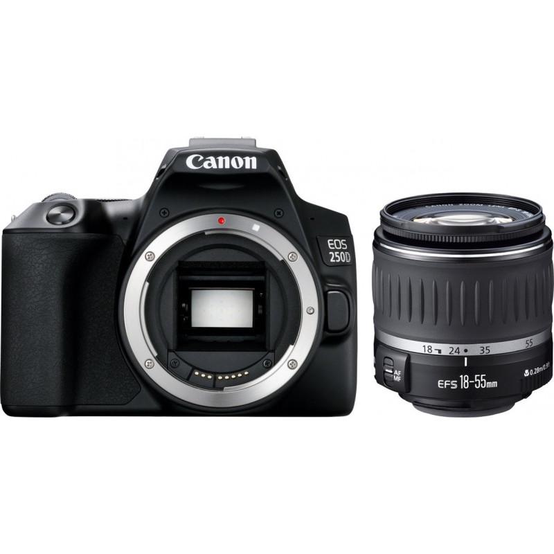 Canon EOS 250D kit 18-55mm DC III - Black [3454C009]
