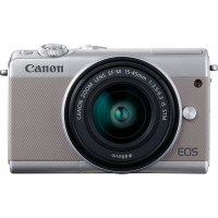 Canon EOS M100 Kit + EF-M 15-45mm f/3.5-6.3 IS STM - Grey [2211C012]