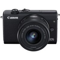 Canon EOS M200 Kit + EF-M 15-45mm f/3.5-6.3 IS STM - Black [3699C027AA]