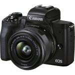 Canon EOS M50 Mark II Kit EF-M 15-45mm IS STM Black [4728C006]