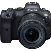 Canon EOS R6 Kit RF 24-105mm f/4-7.1 STM [4082C046AA] (Trade in με FF -300€) - 3 Έτη Εγγύηση