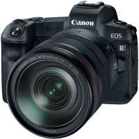 Canon EOS R Kit RF 24-105mm f/4 IS + Adapter EF-EOS R [3075C058AA] (Trade in με FF -300€) - 3 Έτη Εγγύηση