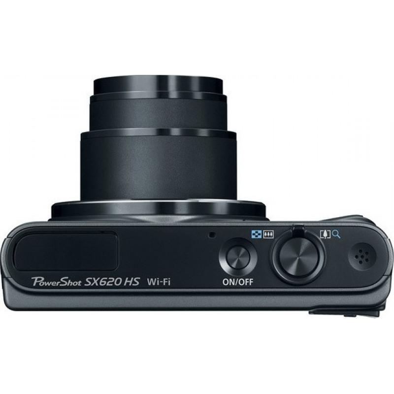 Canon PowerShot SX620 HS - Black + Δώρο θήκη + SD 16GB