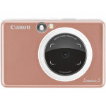Canon Zoemini S Στιγμιαία φωτογραφική μηχανή και εκτυπωτής τσέπης - Rose Gold [3879C007]