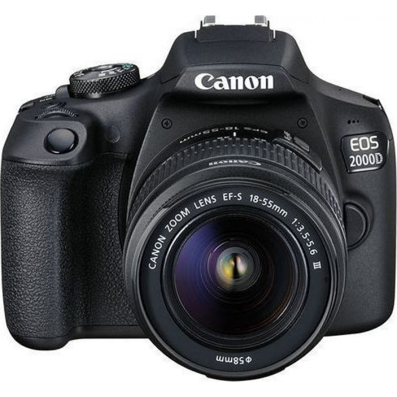 Canon EOS 2000D kit 18-55mm DC III - Black
