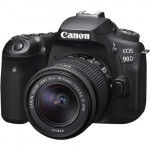Canon EOS 90DKit & EF-S 18-55mm f/3.5-5.6 IS STM [3616C030AA]