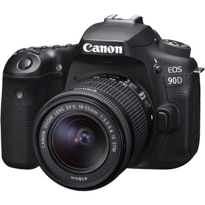 Canon EOS 90DKit & EF-S 18-55mm f/3.5-5.6 IS STM