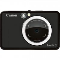Canon Zoemini S Στιγμιαία φωτογραφική μηχανή και εκτυπωτής τσέπης - Black [3879C005AA]