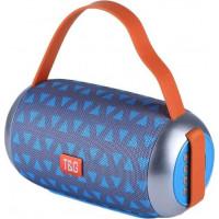 T&G Wireless Bluetooth speaker TG112 - Grey/Blue