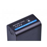 DuraPro μπαταρία NP-F770pro με USB Charging Port συμβατή με Sony NP-F750 / 770 - 5200mAh
