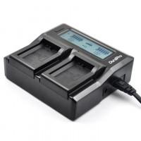 DuraPro LCD Quick Dual Charger Ρεύματος / Αυτοκινήτου για Sony NP-FZ100