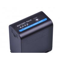 DuraPro μπαταρία NP-F970pro με USB Charging Port συμβατή με Sony NP-F960 / 970 - 7800mAh