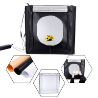 E-Reise Portable Photo Studio Box 80x80 With Built-In Dimmable LED Lights