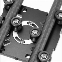 Queenie Carbon Fiber Camera Slider 100cm + Θήκη [CFSL-100]